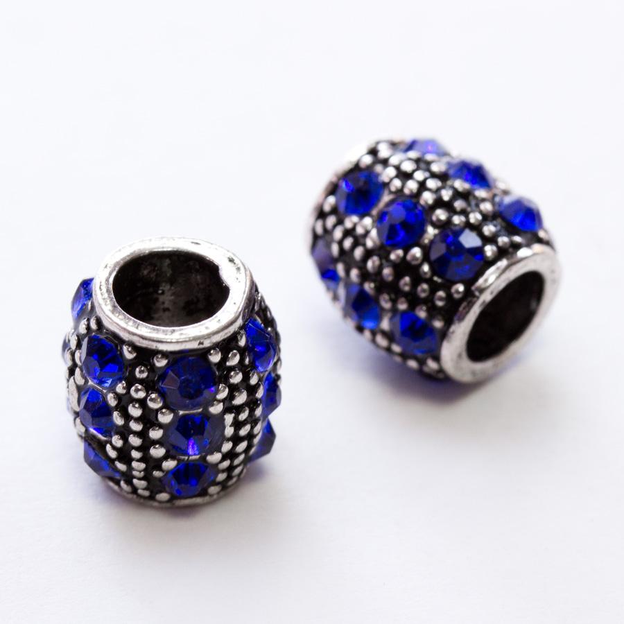velky-kovovy-sud-s-modrymi-krystalmi-v-style-pandora