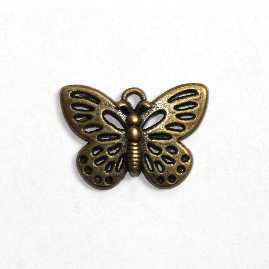 Prívesok motýlik starobronz | obchod | beyou.sk – beauty