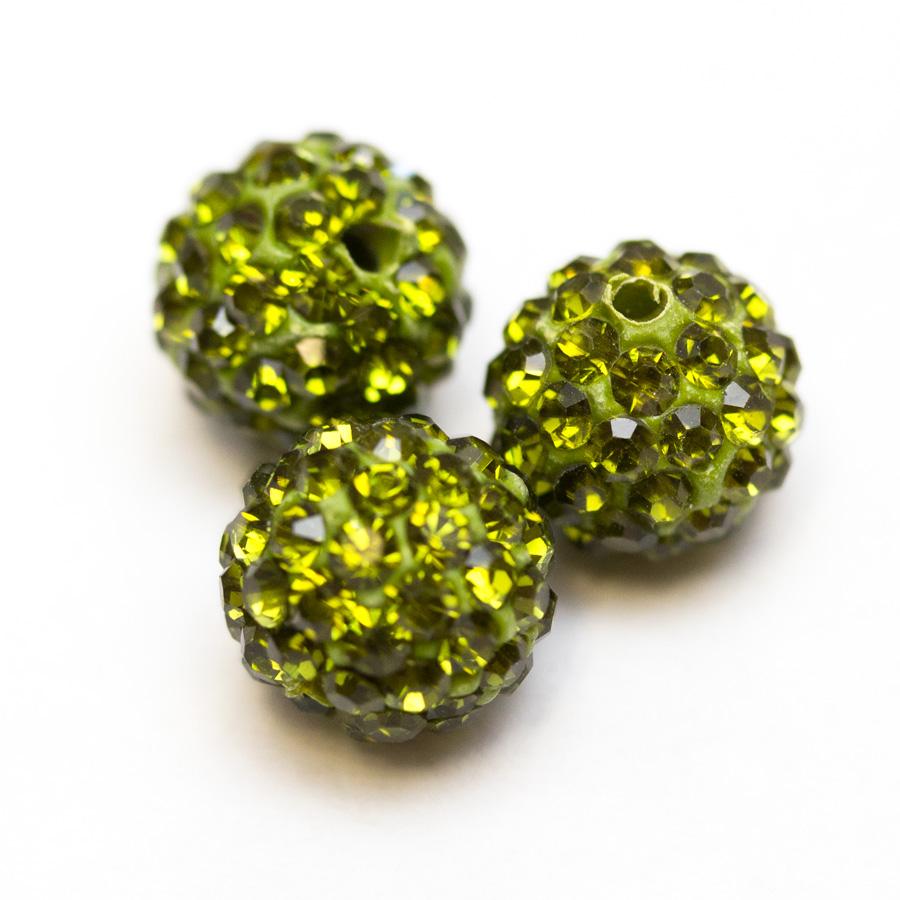 Sambala-koralky-10mm-zelene
