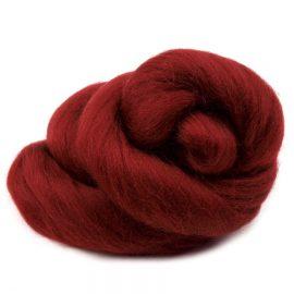 ovcie-runo cesane-cervena