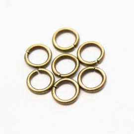 kovove-spojovacie-kruzky-bronzové