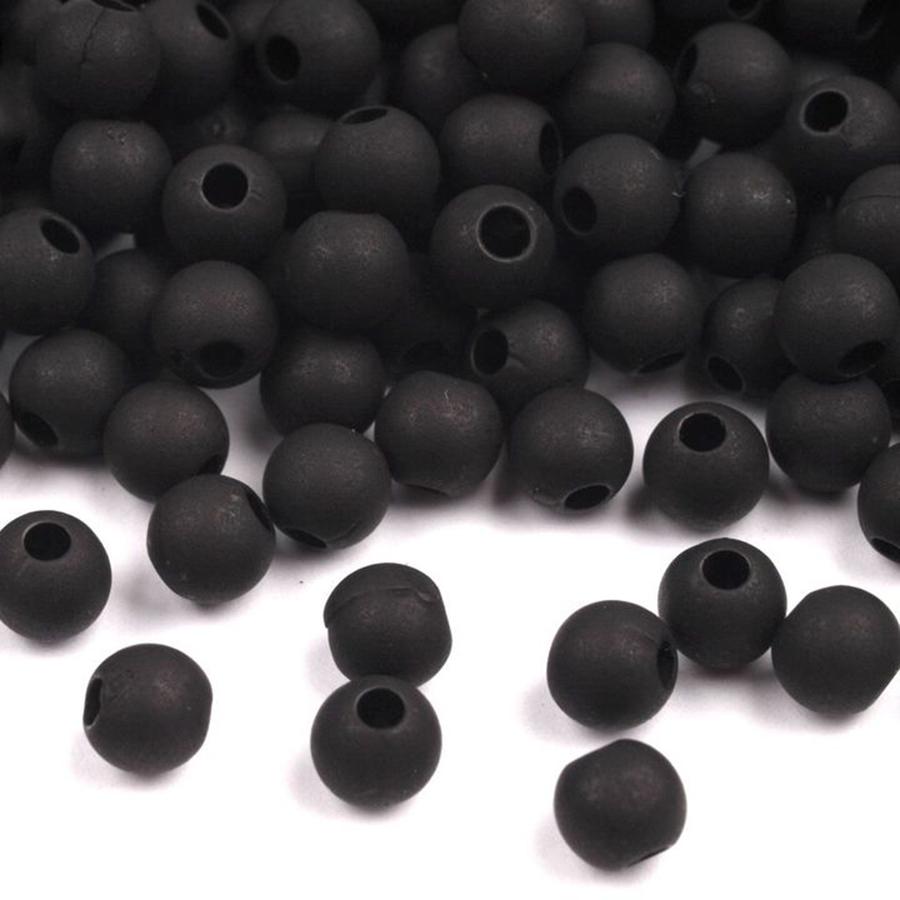 plastove-koralky-4mm-cierne