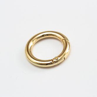 kovova-karabinka-zlata-svetla-25mm