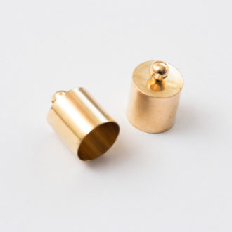 kovova-koncovka kaplik-zlaty