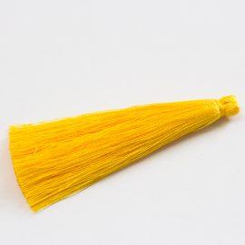 hodvabny-strapec-zlty-6,5cm