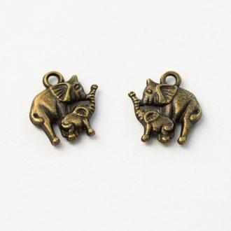 kovovy-privesok-slonia-rodinka-bronzova