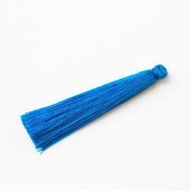 hodvabny-strapec-azurovo- modry-65mm