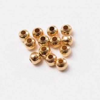 kovove-koralky-rose-gold-4mm