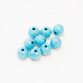 plastove-koralky-modre-bodkovane-8mm
