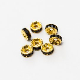 rondelka-8mm-zlato.cierna