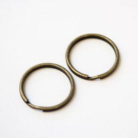 kruzky-na-kluce-25mm-bronz