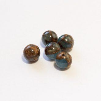 jaspis-cloisonne-morska-modra-8mm