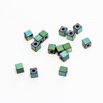 hematitove-koralky-3x3mm-farba-zelena