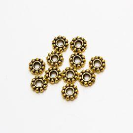 predelovacie korálky-zlate-6,5mm