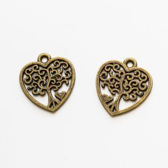 strom zivota-srdce-bronz