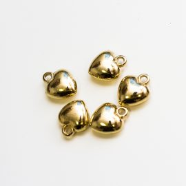 akrylove-srdiecka-zlate-11x14mm