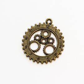 kovovy-privesok-hodinky-24,5mm-bronz