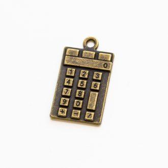 kovovy-privesok-kalkulačka-bronz