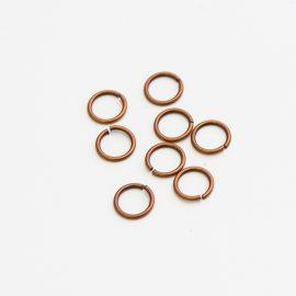 kovovy-kruzok-červena-med-6mm