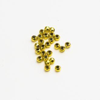 plastove-koralky-3mm-zlate