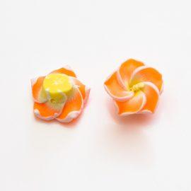 fimo-kvet-oranzovy-12mm