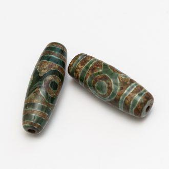 koralka-dzi-13,5x40mm-zeleno-hneda