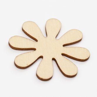 Prirodny-8-lupenovy-kvet-dreveny-vysek-z-preglejky