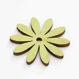 Zeleny-kvet-dreveny-vysek-z-preglejky