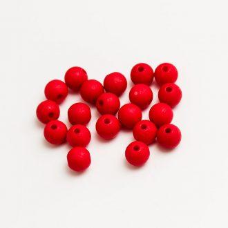 plastove-koralky-matne-cervene-8mm