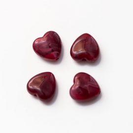 koralka-srdce-bordove-