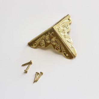 ozdobne-rohy-zlate-25mm