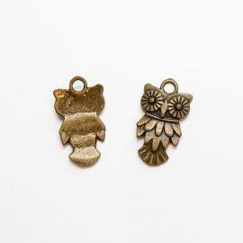 kovovy-privesok-sova-11×20-farba-bronz