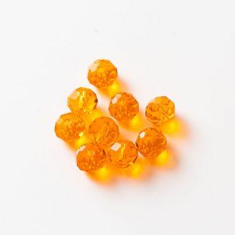 brusene-sklenene-koralky-oranzove-8mm
