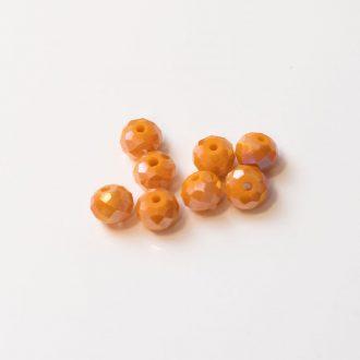 brusene-sklenen-koralky-8mm-orange