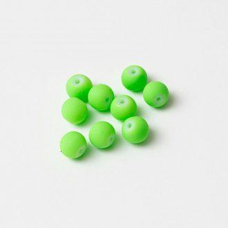 pogumovane-koralky-8mm-neon-zelene
